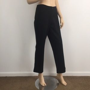 Cache Black Wide Leg Work Dress Pants